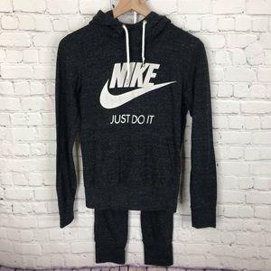 Nike Vintage Style Outfit Hoodie  & Crop Joggers S
